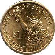 1 Dollar (John Quincy Adams) -  revers