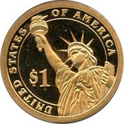 1 Dollar (Woodrow Wilson) -  avers