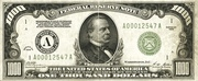 1,000 Dollars (Federal Reserve Note) – avers