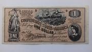 1 dollar – avers