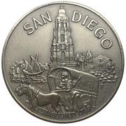 Medal - San Diego Bicentennial -  avers