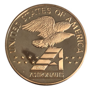 Medal - Young Astronauts (Space Shuttle) -  avers
