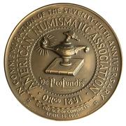 Medal - ANA Diamond Jubilee -  avers
