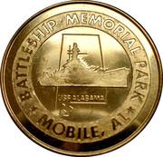 "Battleship Memorial Park Mobile, Alabama -""The Mighty A"" -  avers"