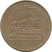Token - Malibu Money (Malibu Grand Prix; Woodland Hills, California) – avers