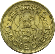 25 Cents - Chuck E. Cheese (In Pizza We Trust) – avers
