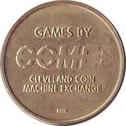 Game Token - Cleveland Coin Machine Exchange – avers