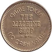 Game Token - The Machine Shop – avers