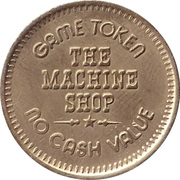 Game Token - The Machine Shop – revers