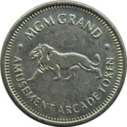 Game Token - MGM Grand – avers