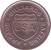 Token - Billiards Sportime – avers