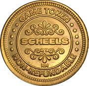Jeton - Scheels – revers