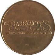 Arcade Token - C.J. Barrymore's (Clinton Township, Michigan) – avers