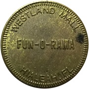 Jeton - Fun-O-Rama (Hialeah, Florida) -  avers