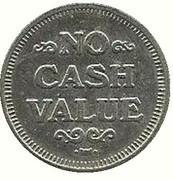 Jeton d'aspirateur - No Cash Value – revers