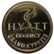 Jeton - Hyatt Regency Grand Cypress (Orlando, Florida) – avers