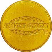 Game Token - Race Rock (Orlando, Florida) – avers