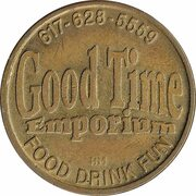 Token - Good Time Emporium (Somerville, Massachusetts) – avers