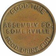 Token - Good Time Emporium (Somerville, Massachusetts) – revers