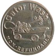 25 Cents Gator Wash – avers