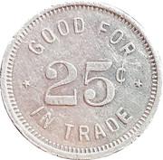 25 cents - Reseda Car Wash – revers