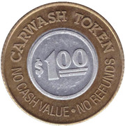 1 Dollar Carwash Token - Buggy Bath (Mesa, Arizona) – revers