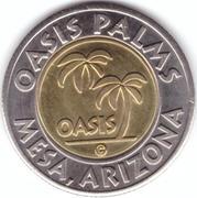 1 Dollar Car Wash Token - Oasis Palms – avers