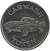 Jeton de lavage automobile 50 cents – avers