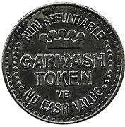 1 Dollar Carwash Token - Rainbow Car Wash – avers