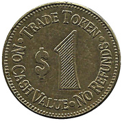 1 Dollar - Ford City Carwash (Pennsylvania) – revers