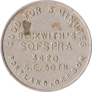 25 Cents - Sofspra (Portland, Oregon) – avers