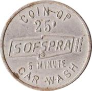 25 Cents - Sofspra (Portland, Oregon) – revers