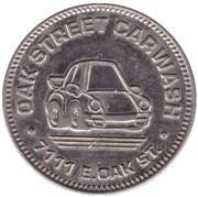 25 Cents Wash Token - Oak Street Carwash (Scottsdale) – avers