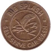 25 Cents Wash Token - Big Splash (Saint Paul) – avers
