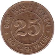 25 Cents Wash Token - Big Splash (Saint Paul) – revers