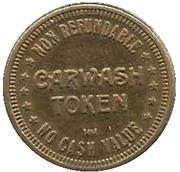 25 Cents Carwash Token – avers