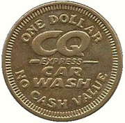 1 Dollar - CQ Express Car Wash (Fenton, Missouri) – avers