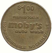 1 Dollar - Moby's Auto Wash (Bakersfield, California) – avers