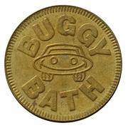 Jeton de lavage automobile - Buggy Bath (Park City, Utah) – avers