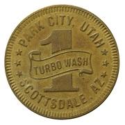 Jeton de lavage automobile - Buggy Bath (Park City, Utah) – revers