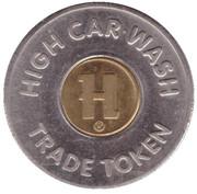 1 Dollar Trade Token - High Car Wash (Lititz, Pennsylvania) – avers