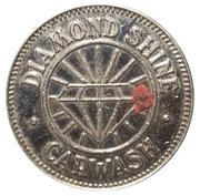 1 Dollar Carwash Token - Diamond Shine Carwash (Cumberland, Maryland) – avers
