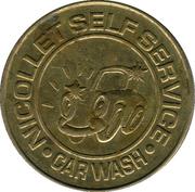 25 cents - Nicollet Self Service (Minneapolis, Minnesota) – avers