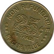 25 cents - Nicollet Self Service (Minneapolis, Minnesota) – revers