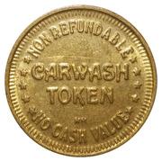 Jeton de lavage automobile - Carwash Token (Brass, 25mm, HM) – avers