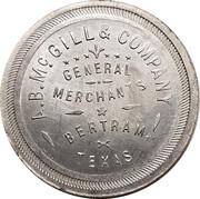 1 Dollar - A.B. McGill & Company -  avers
