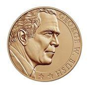 Medal - George W. Bush (Second Term) -  avers