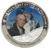 Token - George Washington (1st President) -  avers