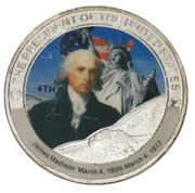 Token - James Madison (4th President) -  avers