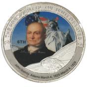Token - John Quincy Adams (6th President) -  avers